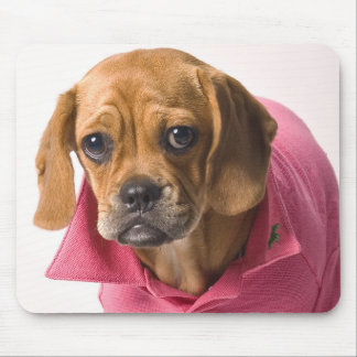 Puggle in Pink! Mouse Pad