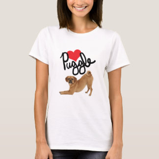 Puggle Lover Tee by Mini Brothers