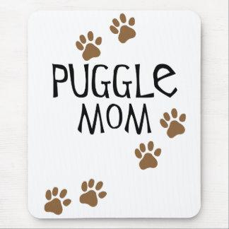 Puggle Mom Mouse Pad