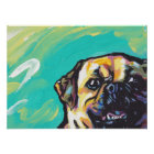 Puggle Pop Art Dog Poster Print