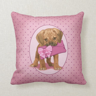 Puggle Puppy and Clutch Cushion