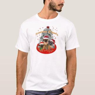 Puggle Santa Paws T-Shirt