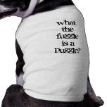 Puggle? Sleeveless Dog Shirt