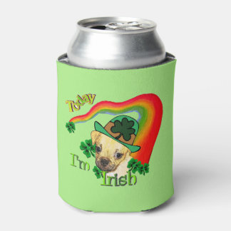 Puggle St Patricks Day Can Cooler