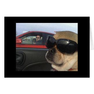 Puggles Greeting Card