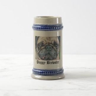 Puggy Brewster Stein mug