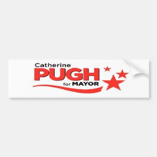 Pugh for Mayor Bumper Sticker