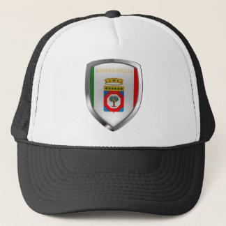 Puglia Mettalic Emblem Trucker Hat
