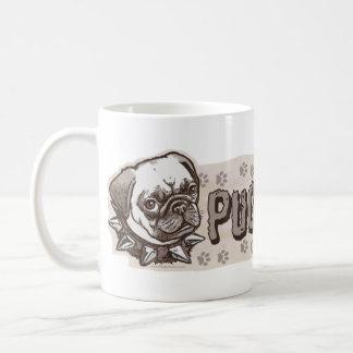 Pugnacious Pug by Mudge Studios Coffee Mug
