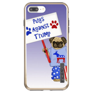 Pugs against Trump Incipio DualPro Shine iPhone 8 Plus/7 Plus Case