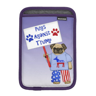 Pugs against Trump iPad Mini Sleeve