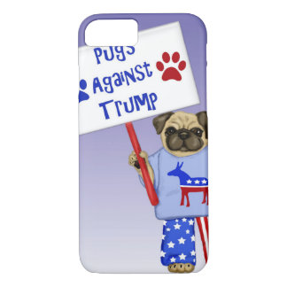Pugs against Trump iPhone 8/7 Case
