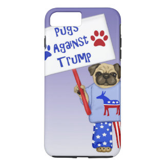 Pugs against Trump iPhone 8 Plus/7 Plus Case