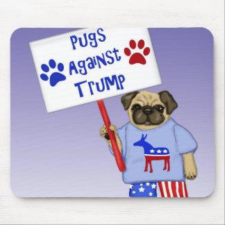 Pugs against Trump Mouse Pad