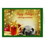 Pugs and Kisses Christmas Card Gifts