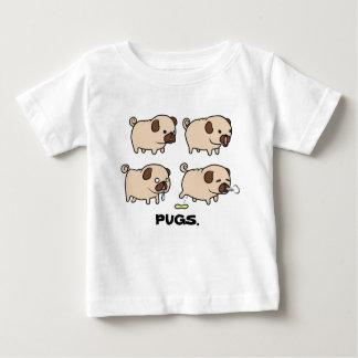 PUGS. Baby Fine Jersey T-Shirt