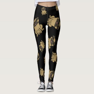 Pugs Design Leggings