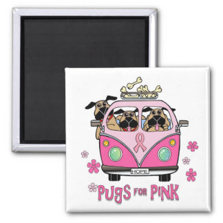 Pugs for Pink Magnet