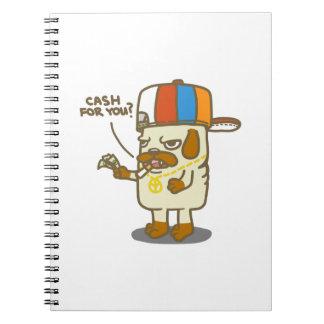 Pug's Life Spiral Notebook
