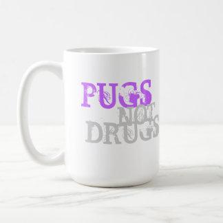 PUGS NOT DRUGS II COFFEE MUG
