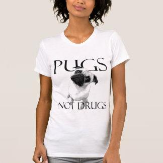 Pugs Not Drugs T Shirts