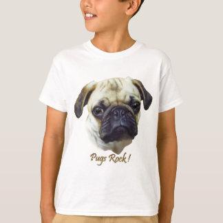 Pugs-Rock Tee Shirt