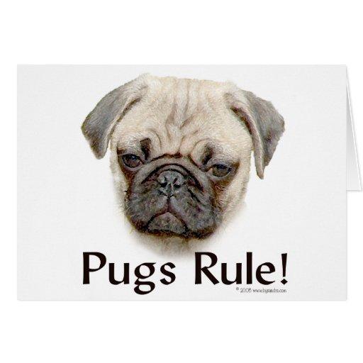 Pugs Rule Card