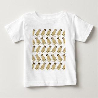Pugs White Baby T-Shirt