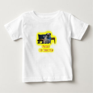 Pugsley The Director Baby T-Shirt
