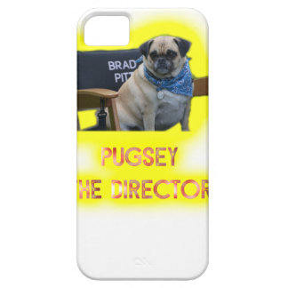 Pugsley The Director iPhone 5 Cover