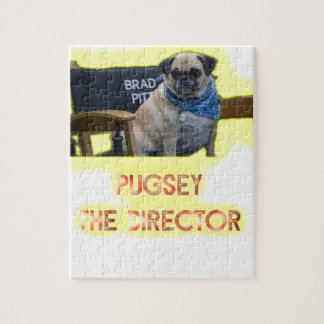 Pugsley The Director Jigsaw Puzzle