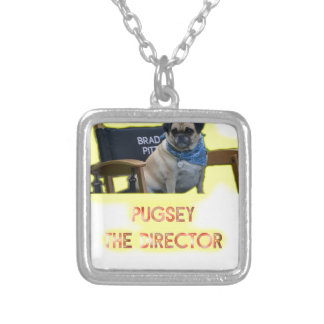 Pugsley The Director Silver Plated Necklace