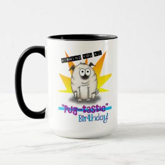 Pugtastic Birthday Mug