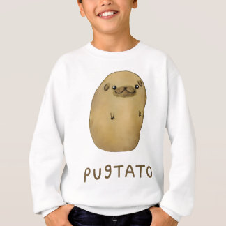 Pugtato Pug Potato Sweatshirt