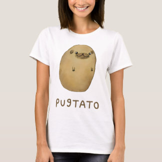 Pugtato Pug Potato T-Shirt