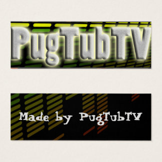 PugTub's PRO team card