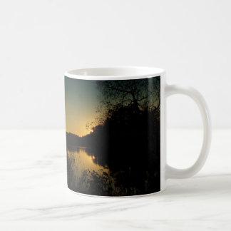 """Puhajarve sunset"" Basic White Mug"