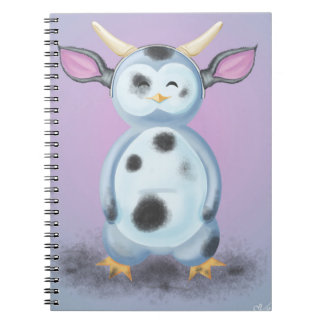 Puik-Puik is disguised in filthy cow Notebook