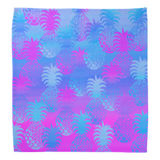 Pukana Hawaiian Pineapple Sunset Blend Bandana