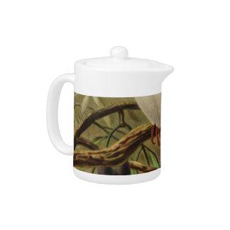 Pukeko Semi-Abstract Teapot