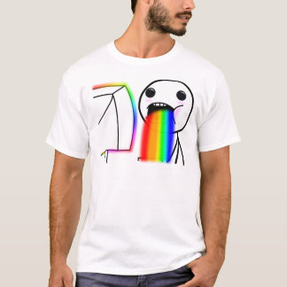 Pukes Rainbows T-Shirt