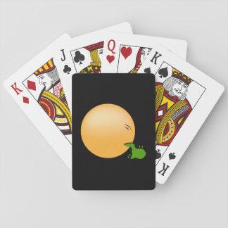 Puking Emoji Playing Cards