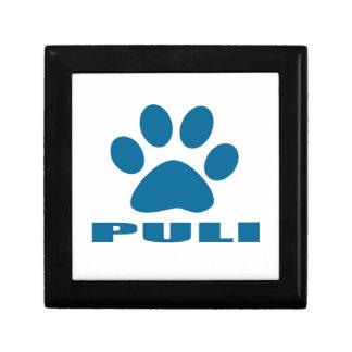 PULI DOG DESIGNS GIFT BOX