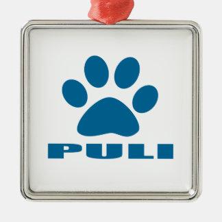 PULI DOG DESIGNS METAL ORNAMENT