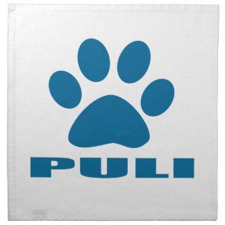 PULI DOG DESIGNS NAPKIN