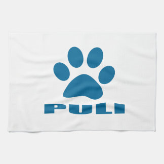 PULI DOG DESIGNS TEA TOWEL
