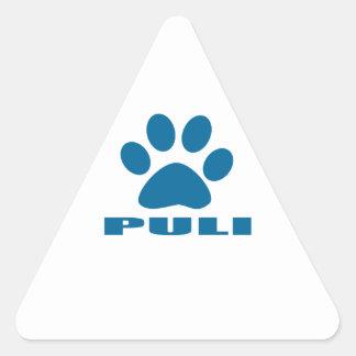 PULI DOG DESIGNS TRIANGLE STICKER