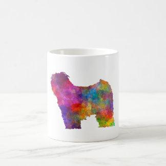 Puli in watercolor coffee mug