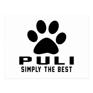 Puli Simply the best Postcard