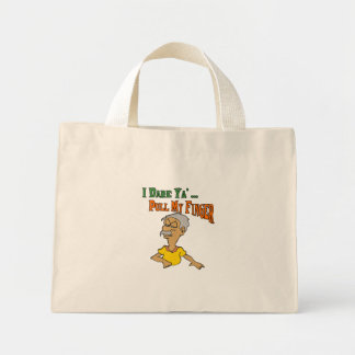 Pull My Finger Mini Tote Bag
